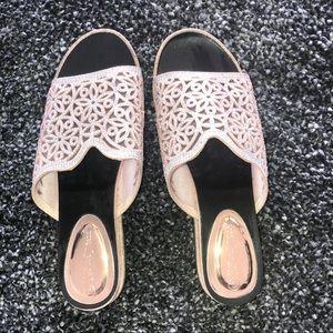 Nature Breeze Welch Embellished Sandal
